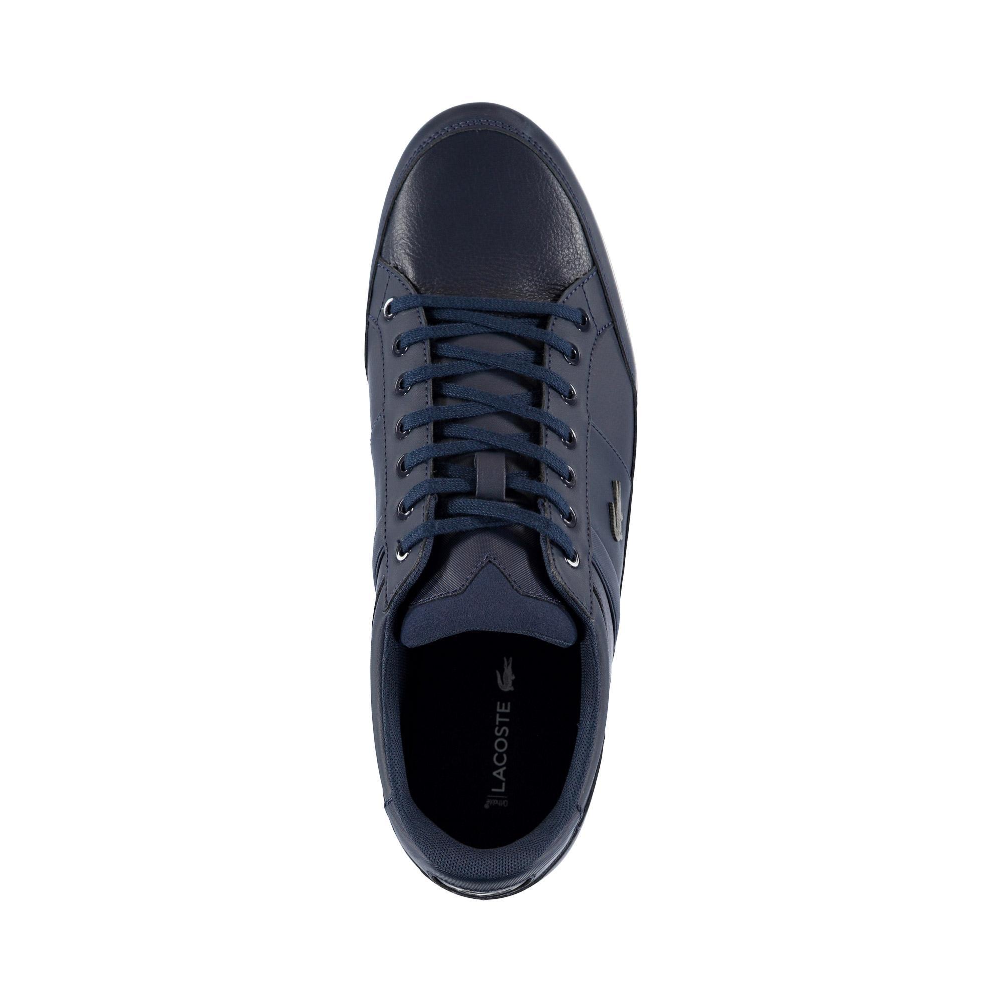 Lacoste Erkek Lacivert - Beyaz Chaymon BL 1 Casual Ayakkabı