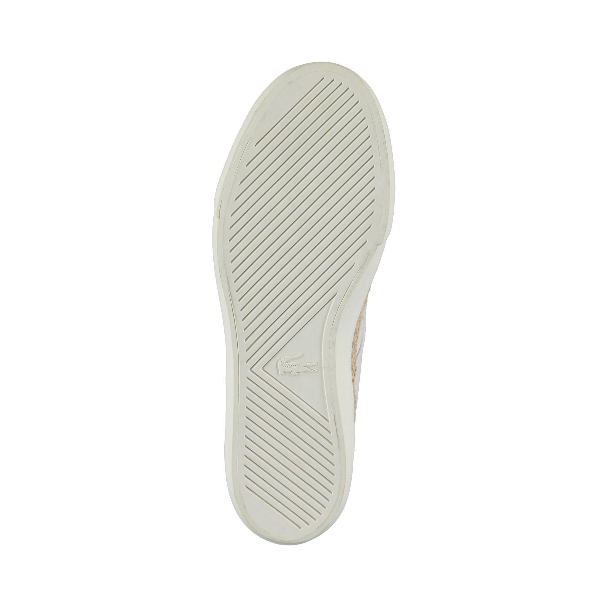 Lacoste Erkek Bej Esparre Jute 119 2 Casual Ayakkabı