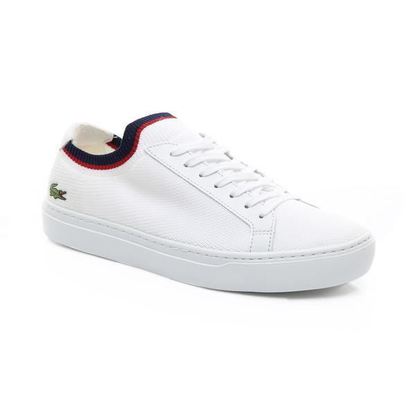 Lacoste Erkek Beyaz - Lacivert - Kırmızı La Piquée 119 1 Casual Ayakkabı