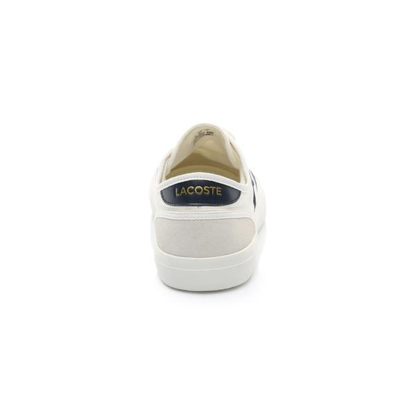 Lacoste Erkek Bej - Lacivert Sideline 119 1 Casual Ayakkabı
