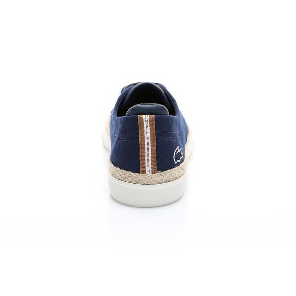 Lacoste Erkek Lacivert - Açık Kahve Esparre Jute 119 2 Casual Ayakkabı