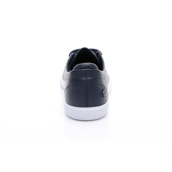 Lacoste Erkek Lacivert - Beyaz Esparre BL 1 Casual Ayakkabı