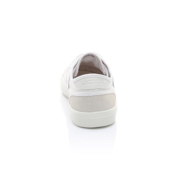 Lacoste Erkek Beyaz - Bej Sideline 119 1 Casual Ayakkabı