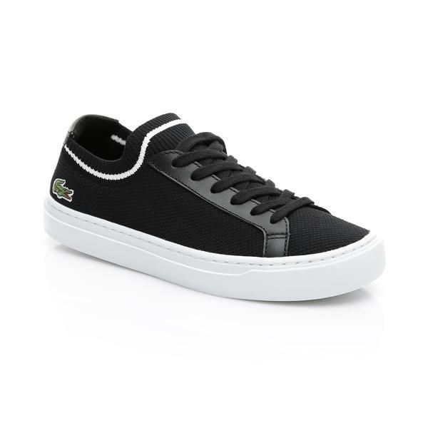 Lacoste Kadın Siyah - Beyaz La Piquée 119 1 Casual Ayakkabı