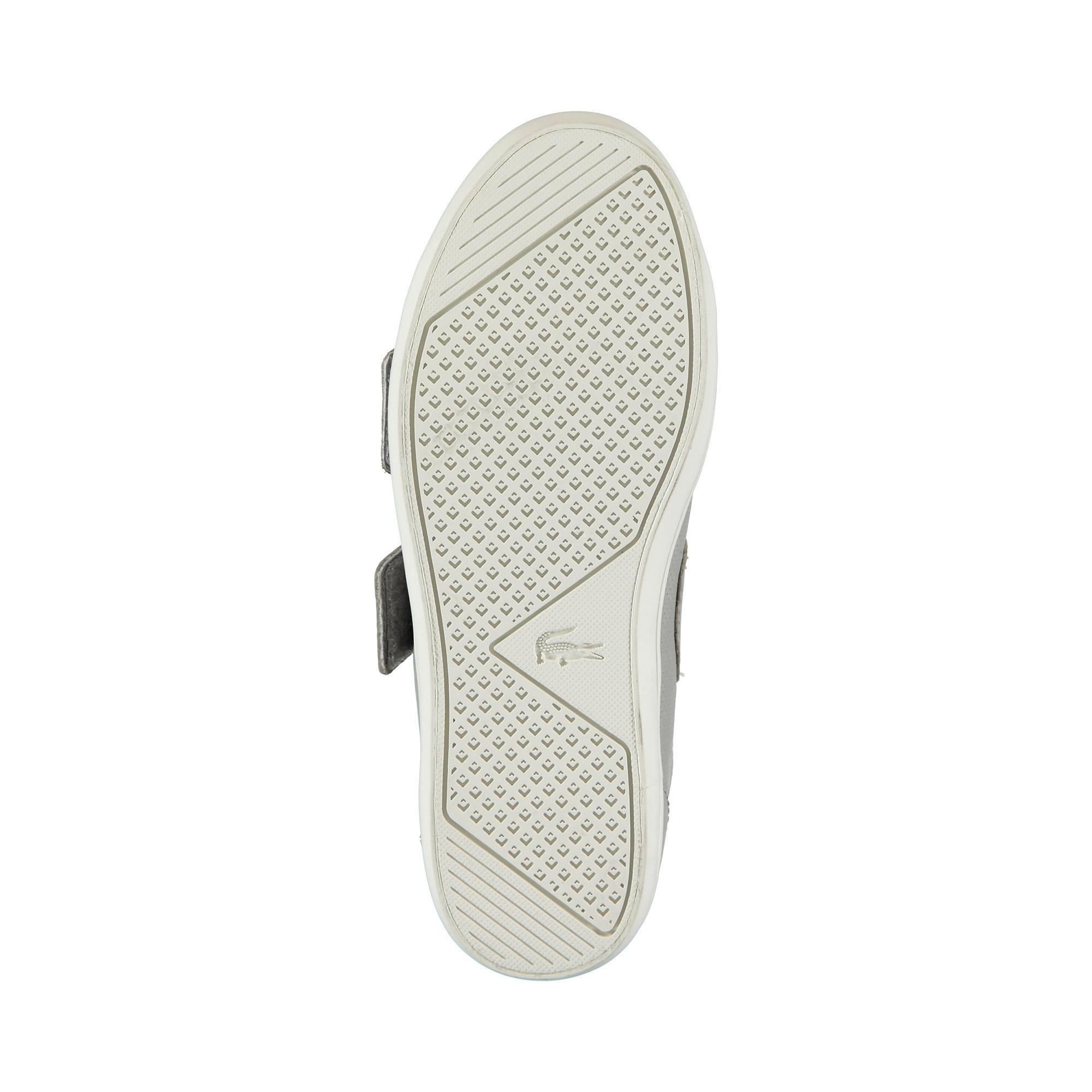 Lacoste Kadın Gri - Bej Straightset Strap 1191 Casual Ayakkabı