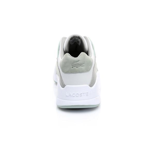 Lacoste Kadın Açık Gri - Açık Yeşil Court Slam 219 1 Sneaker