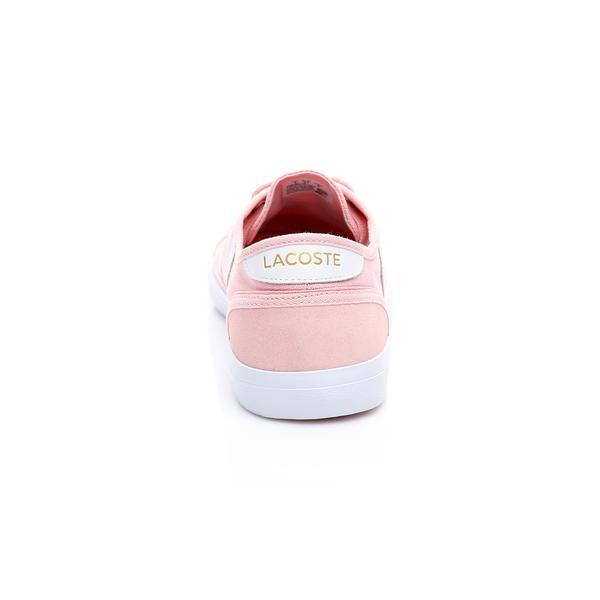 Lacoste Kadın Açık Pembe - Beyaz Sideline 119 1 Casual Ayakkabı