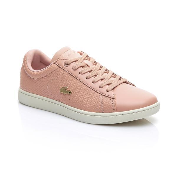 Lacoste Kadın Açık Pembe - Bej Carnaby Evo 119 3 Sneaker