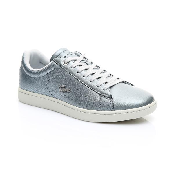 Lacoste Kadın Gümüş - Bej Carnaby Evo 119 9 Sneaker