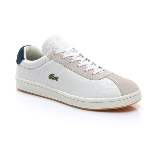 Lacoste Erkek Bej - Lacivert Masters 119 3 Sneaker
