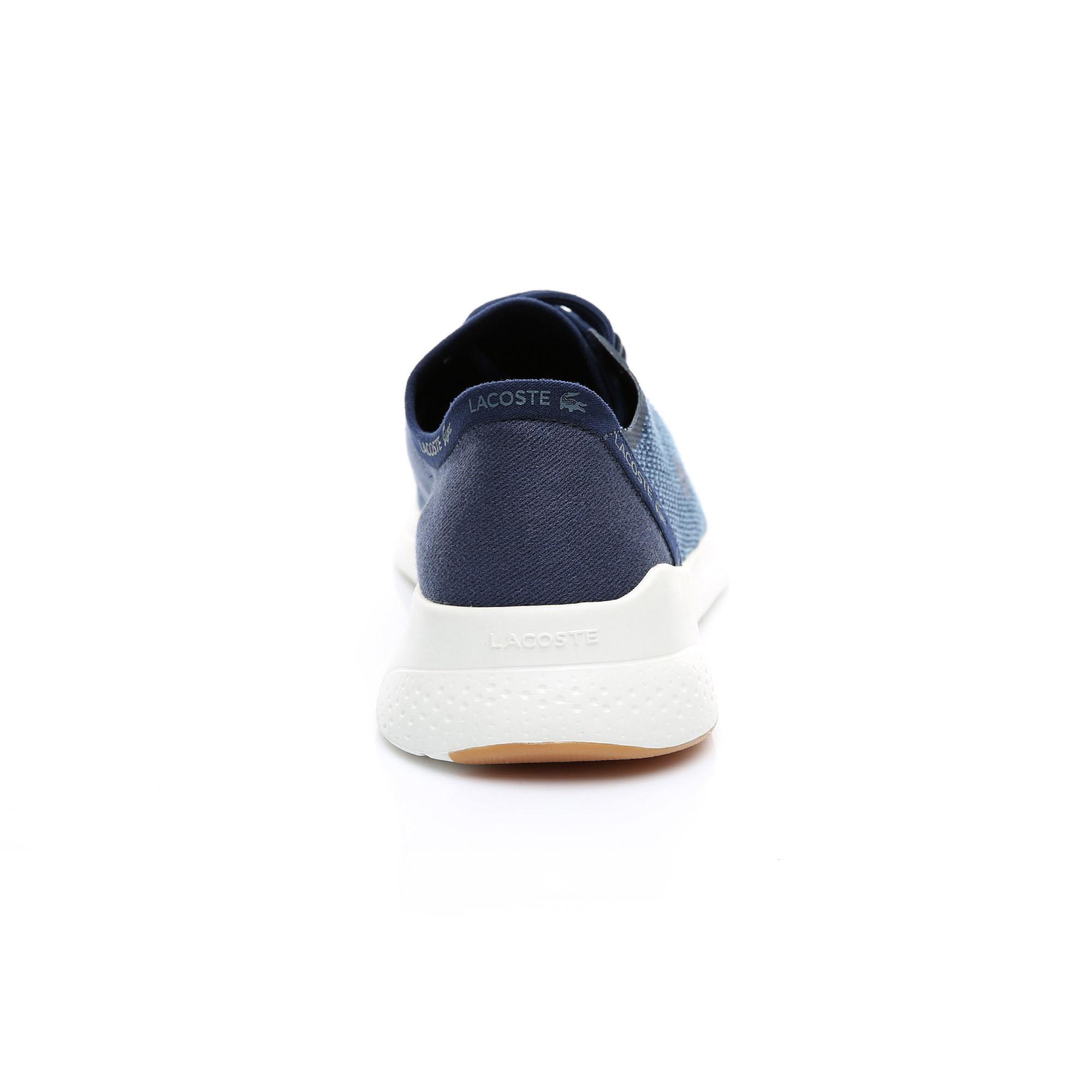 Lacoste Erkek Lacivert - Bej LT Fit 119 3 Sneaker