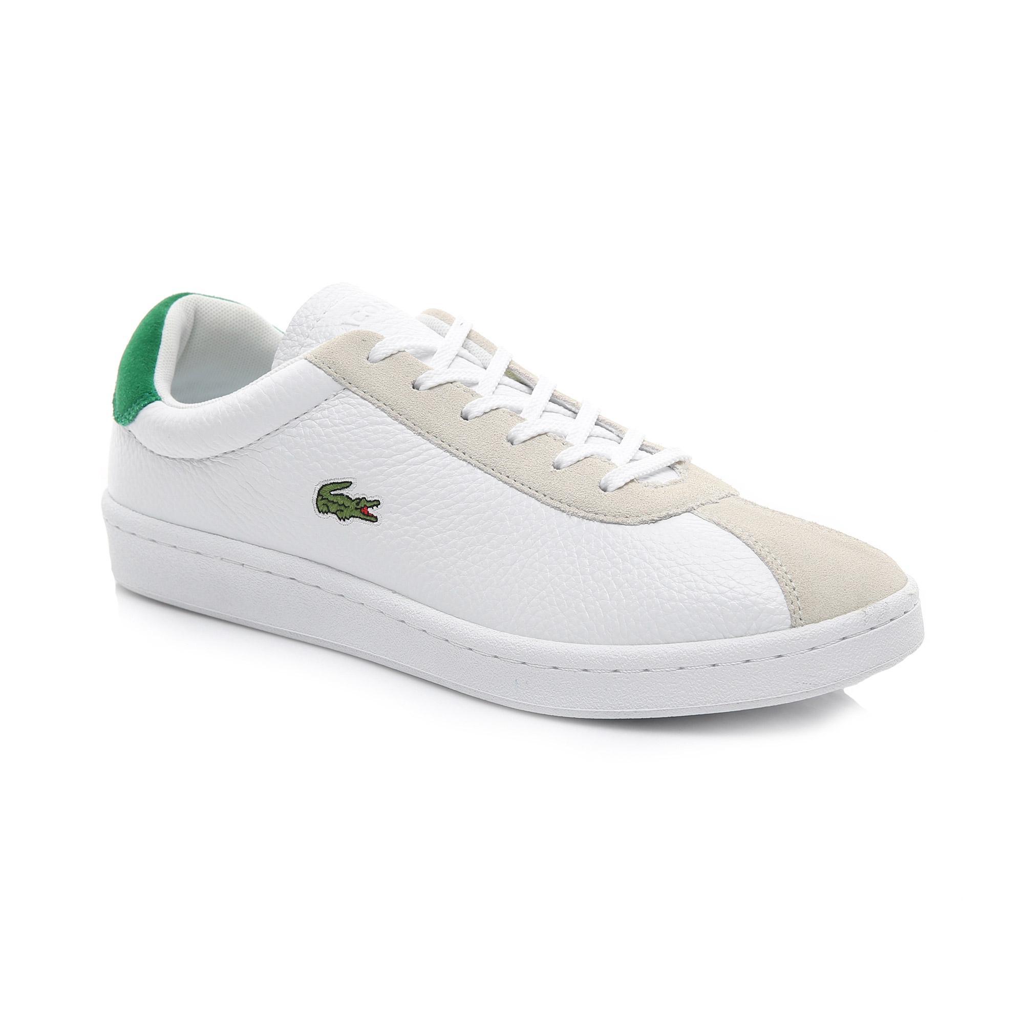 Lacoste Erkek Beyaz - Yeşil Masters 119 2 Sneaker