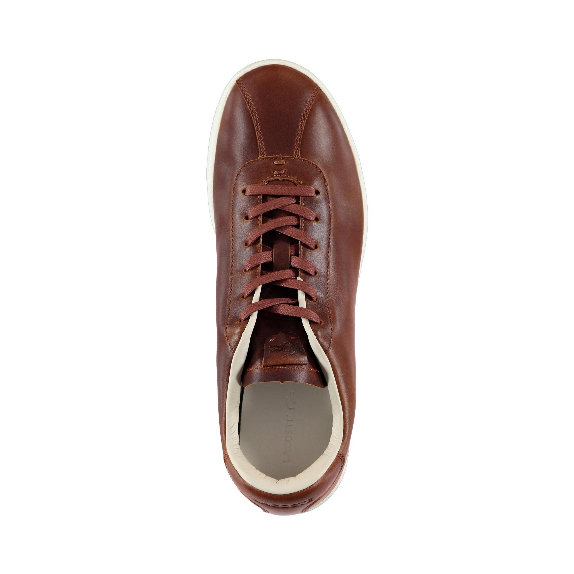 Lacoste Erkek Kahve - Bej Masters 119 4 Sneaker