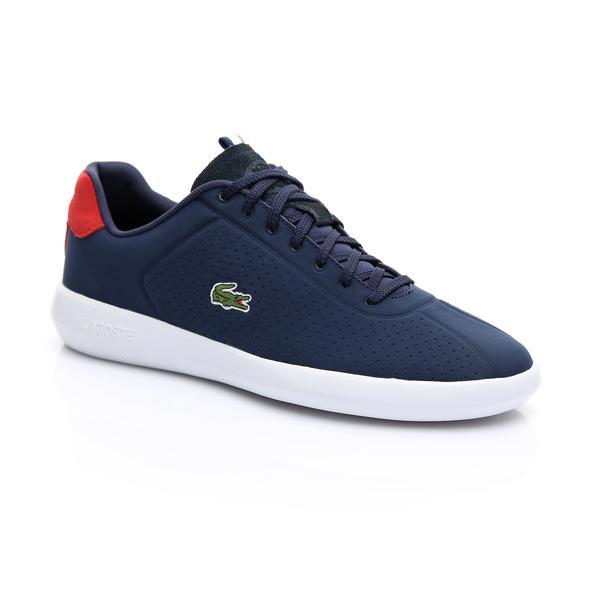 Lacoste Erkek Lacivert - Kırmızı - Beyaz Avance 119 1 Sneaker