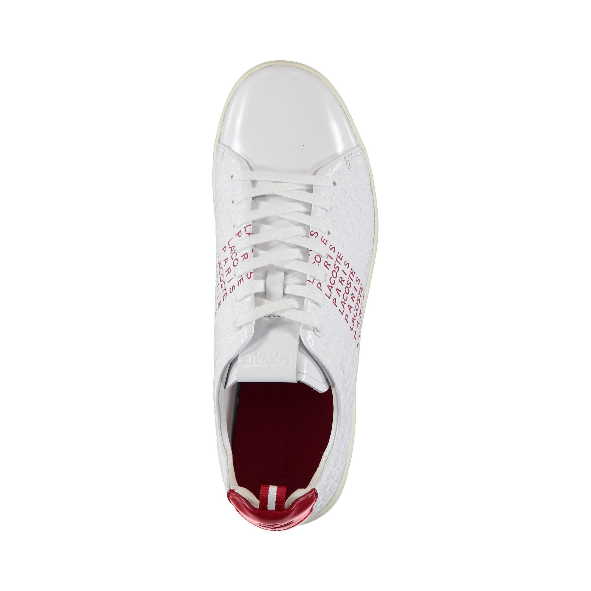 Lacoste Erkek Beyaz - Kırmızı Carnaby Evo 119 9 Us Sneaker
