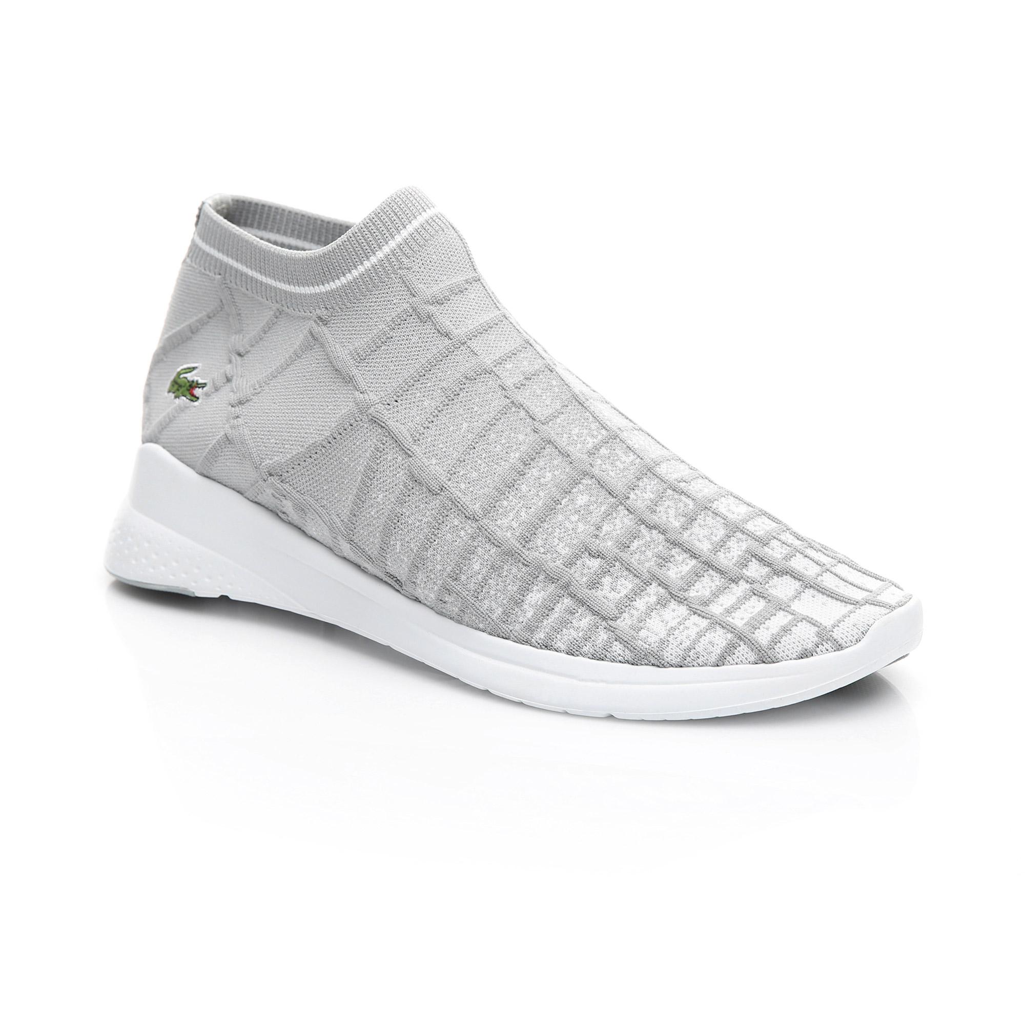 Lacoste Erkek Gri - Beyaz LT Fit Sock