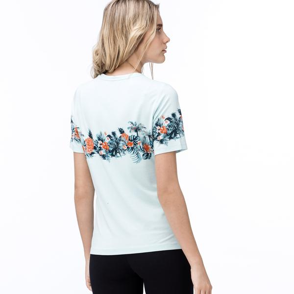 Lacoste Kadın Bej T-Shirt
