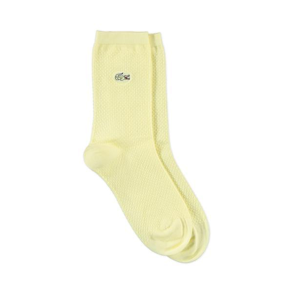 Lacoste Unisex Sarı Çorap