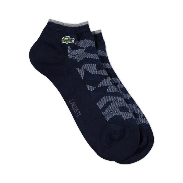 Lacoste Unisex Lacivert Çorap