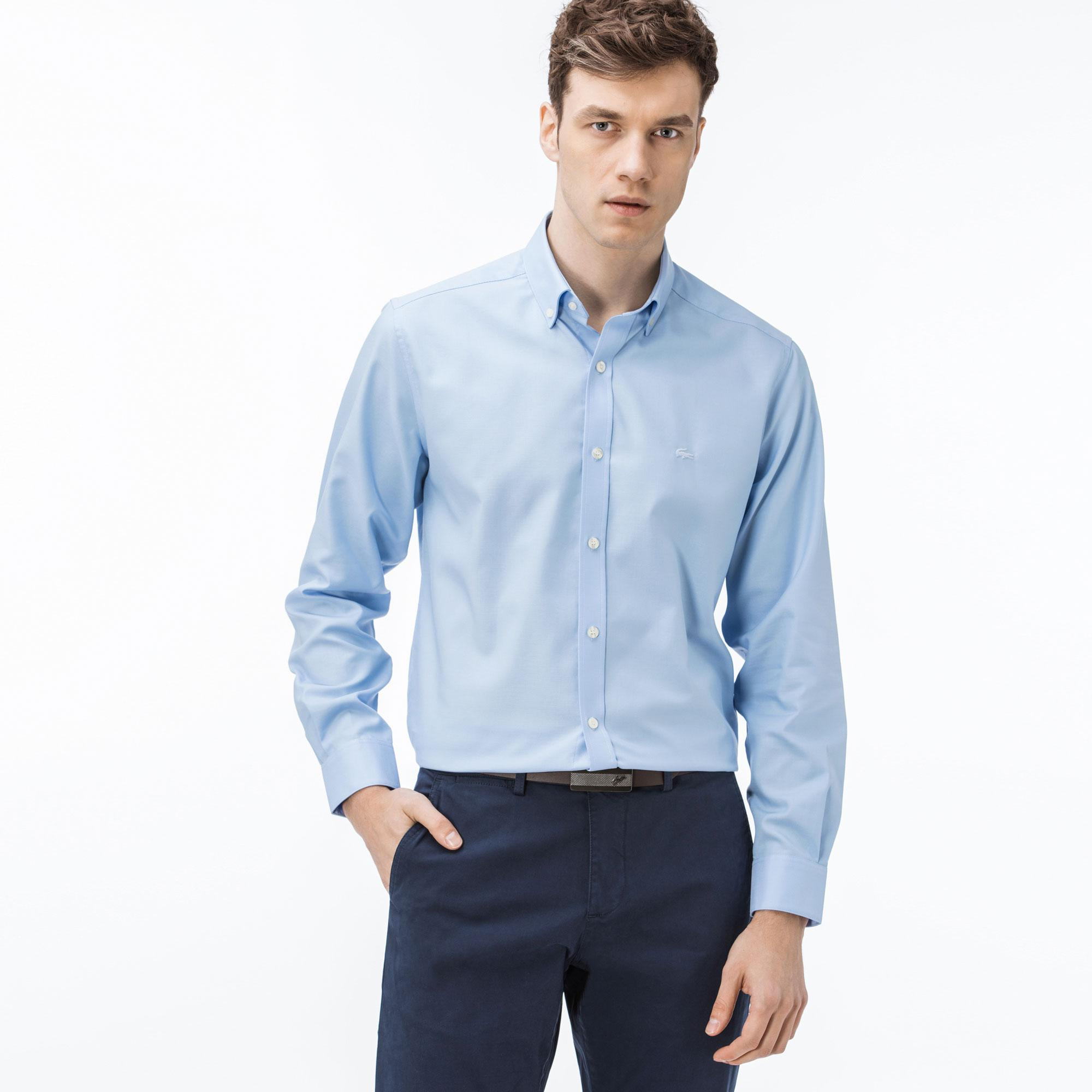 Lacoste Erkek Mavi Gömlek