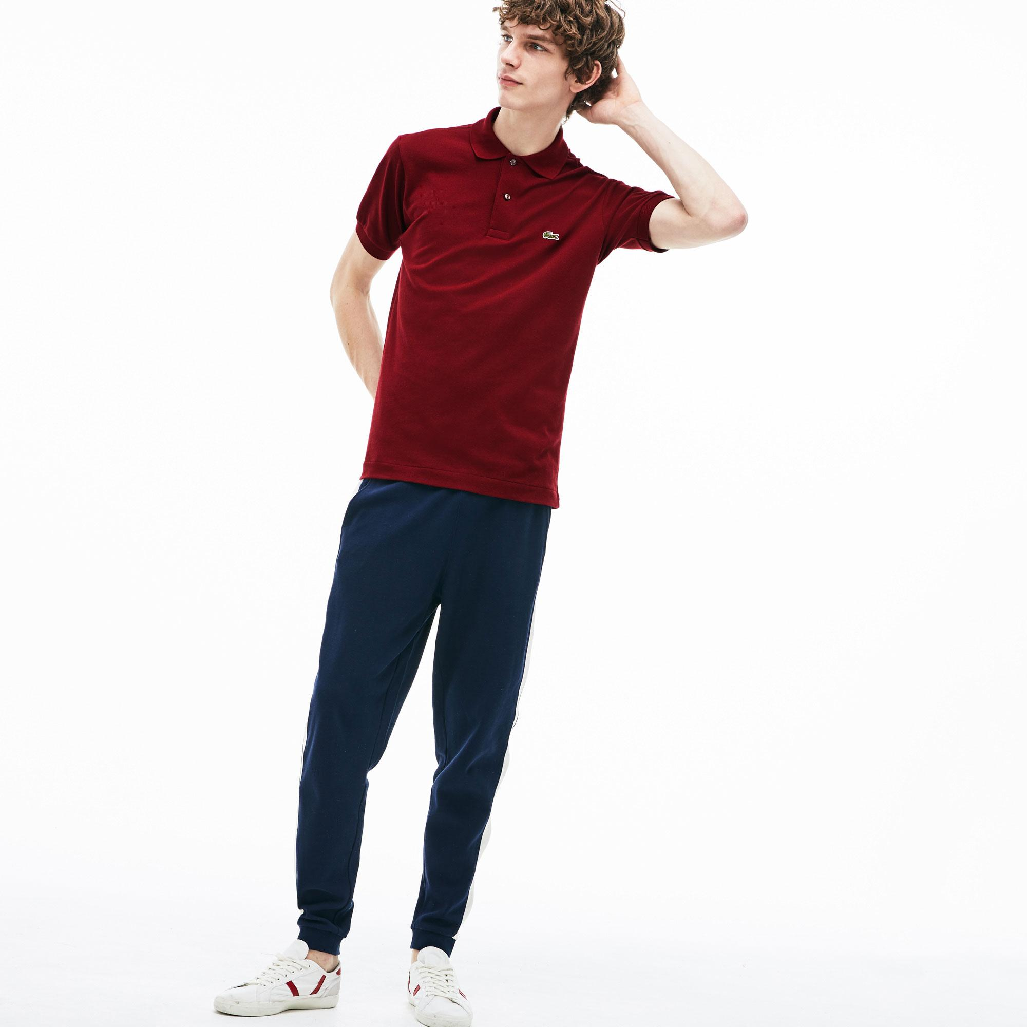 Lacoste Erkek Klasik Fit L1212 Bordo Polo