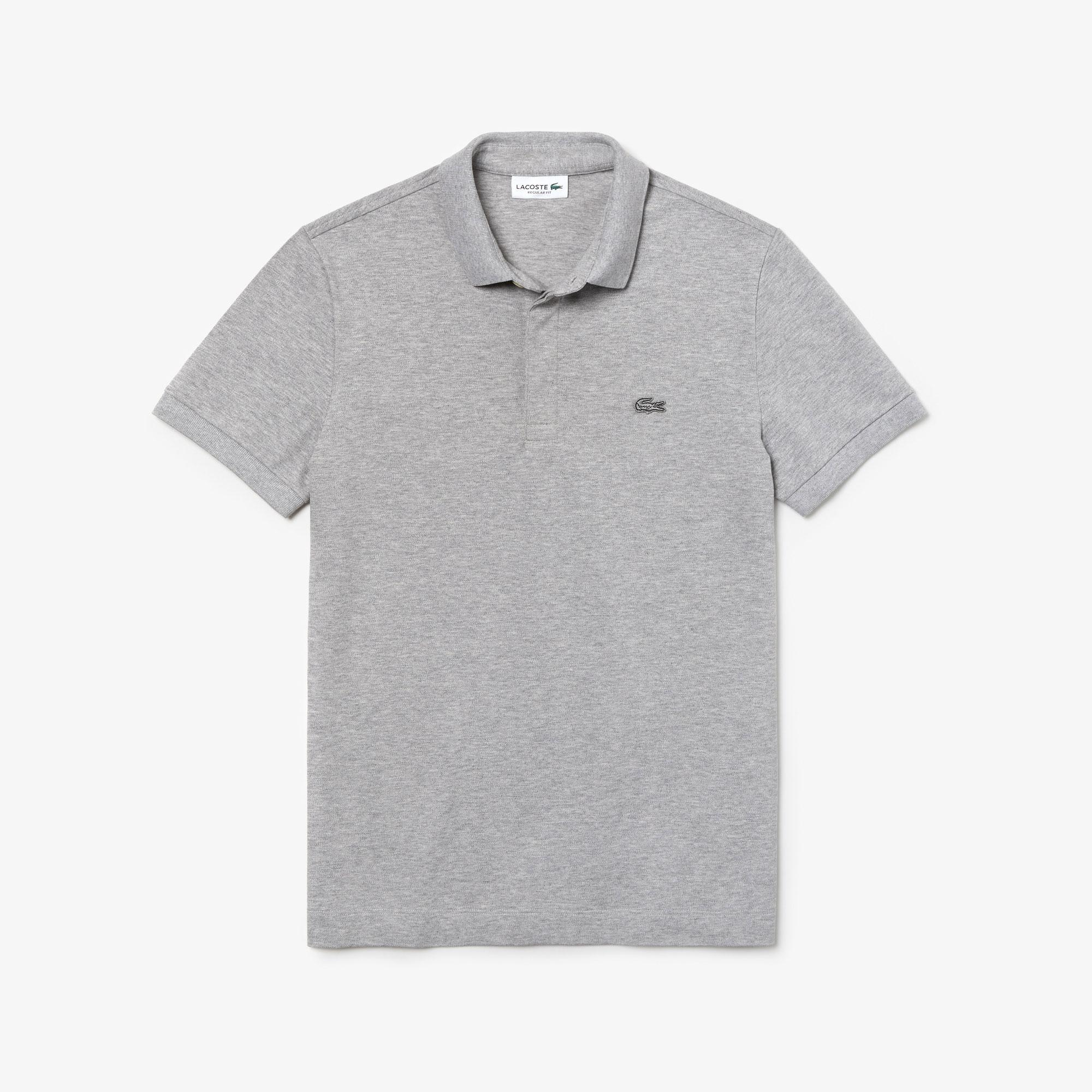 Lacoste Erkek Regular Fit Gri Paris Polo
