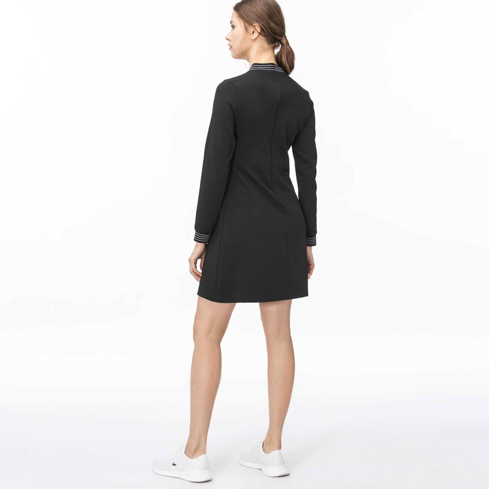 Lacoste Kadın Siyah Elbise