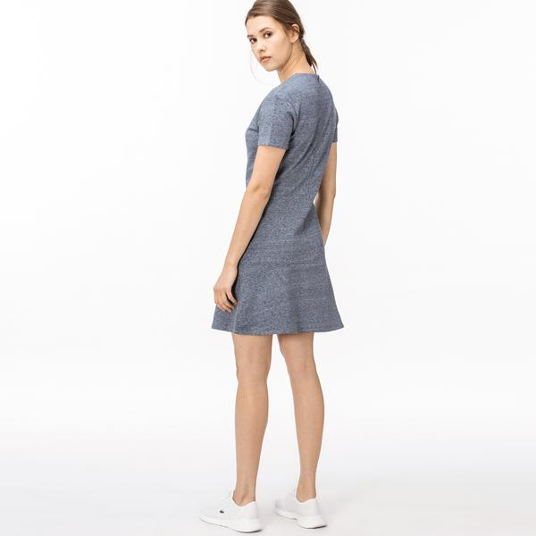 Lacoste Kadın Mavi Elbise