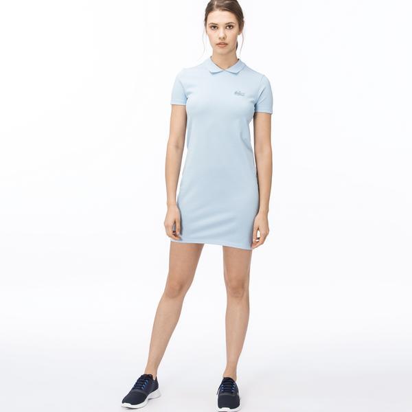Lacoste L!ve Kadın Mavi Elbise