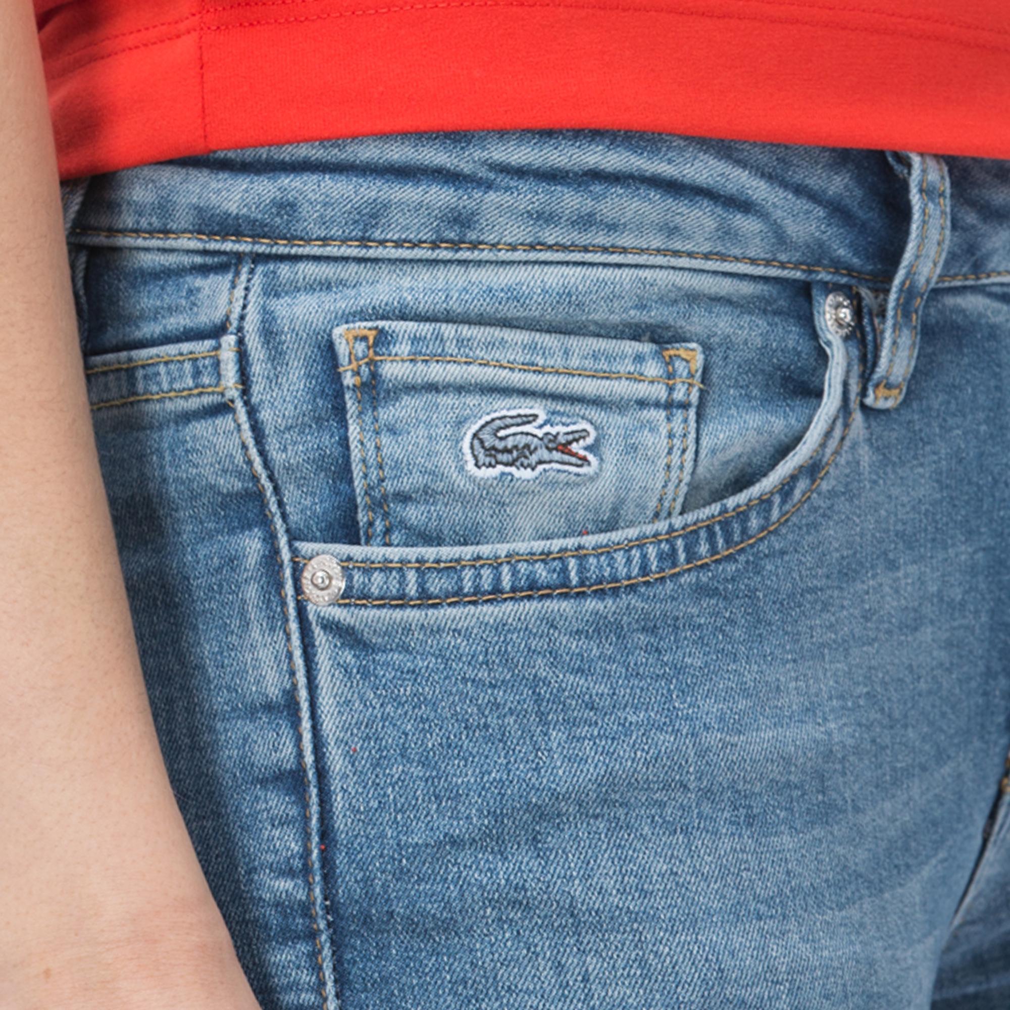 Lacoste Kadın Mavi Pantolon