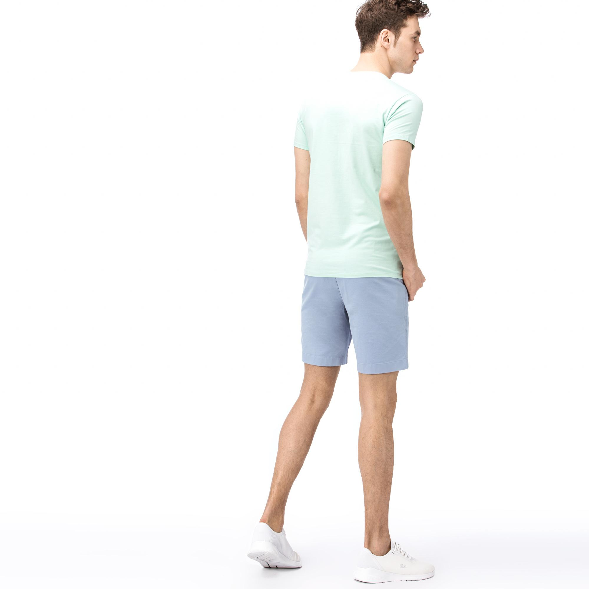 Lacoste Erkek Slim Fit Mavi Bermuda
