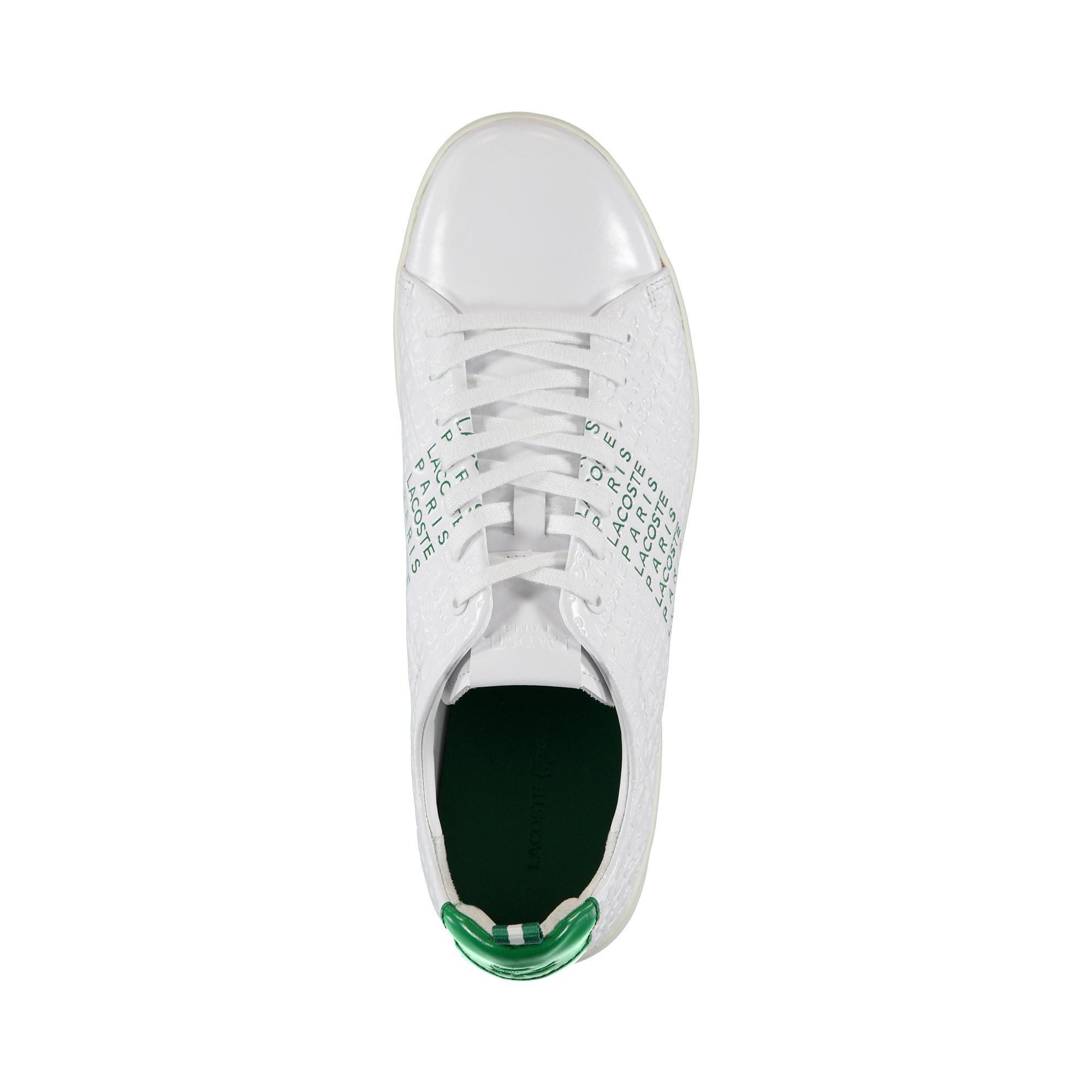 Lacoste Erkek Beyaz - Yeşil Carnaby Evo 119 9 Us Sneaker