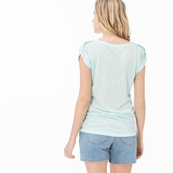 Lacoste Kadın Yeşil Bluz
