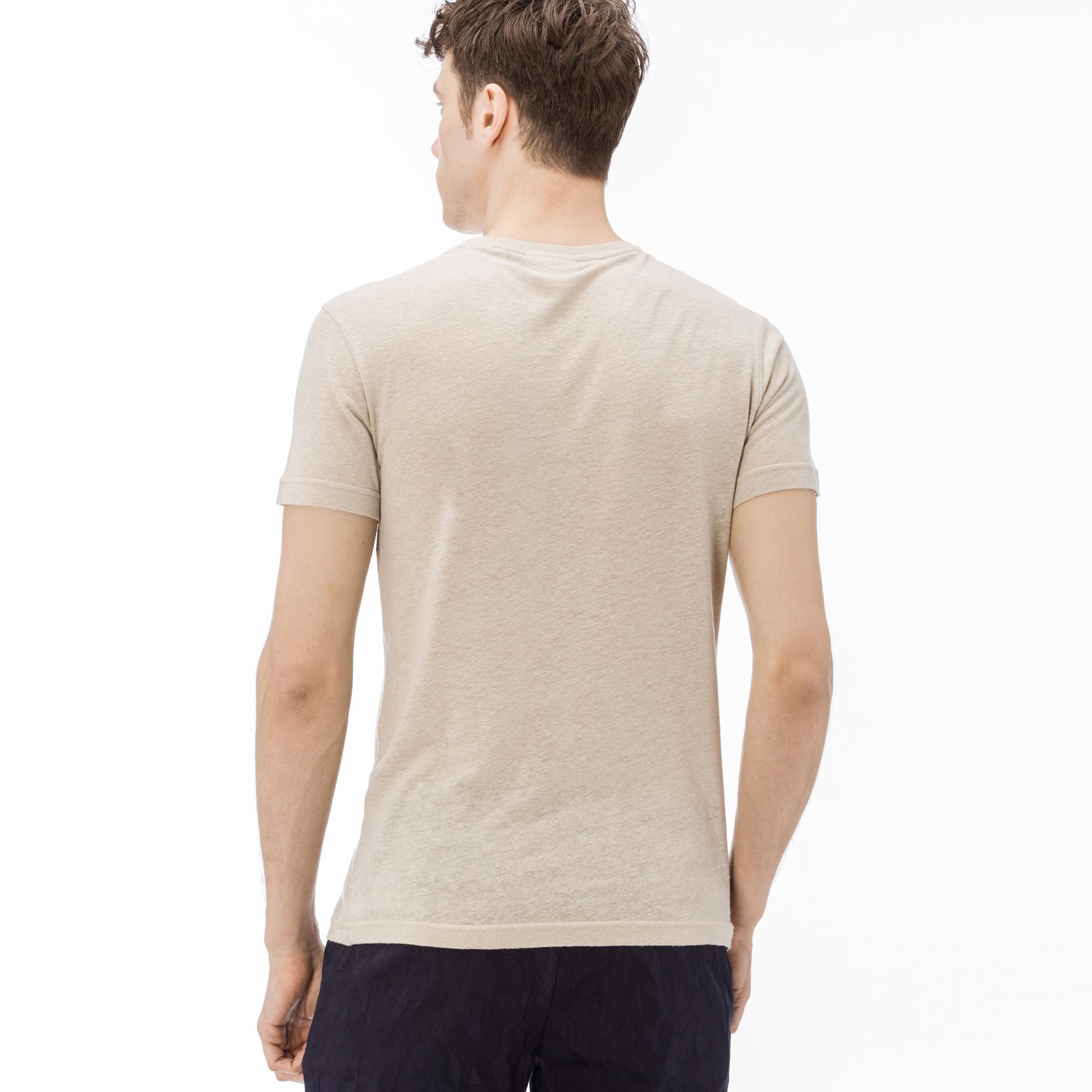 Lacoste Erkek Bej T-Shirt