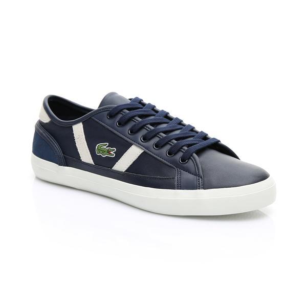 Lacoste Erkek Lacivert - Beyaz Sideline 119 3 Casual Ayakkabı