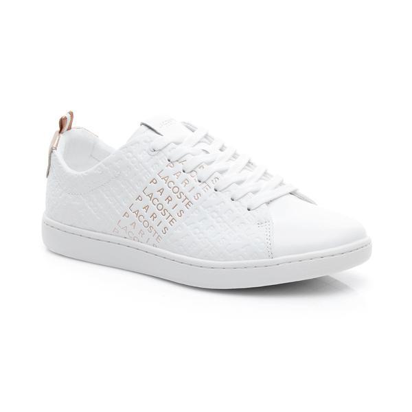 Lacoste Kadın Beyaz - Pembe Carnaby Evo 119 11 Us Sneaker