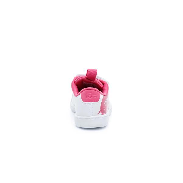 Lacoste Çocuk Beyaz - Koyu Pembe Carnaby Evo 119 1 Sneaker