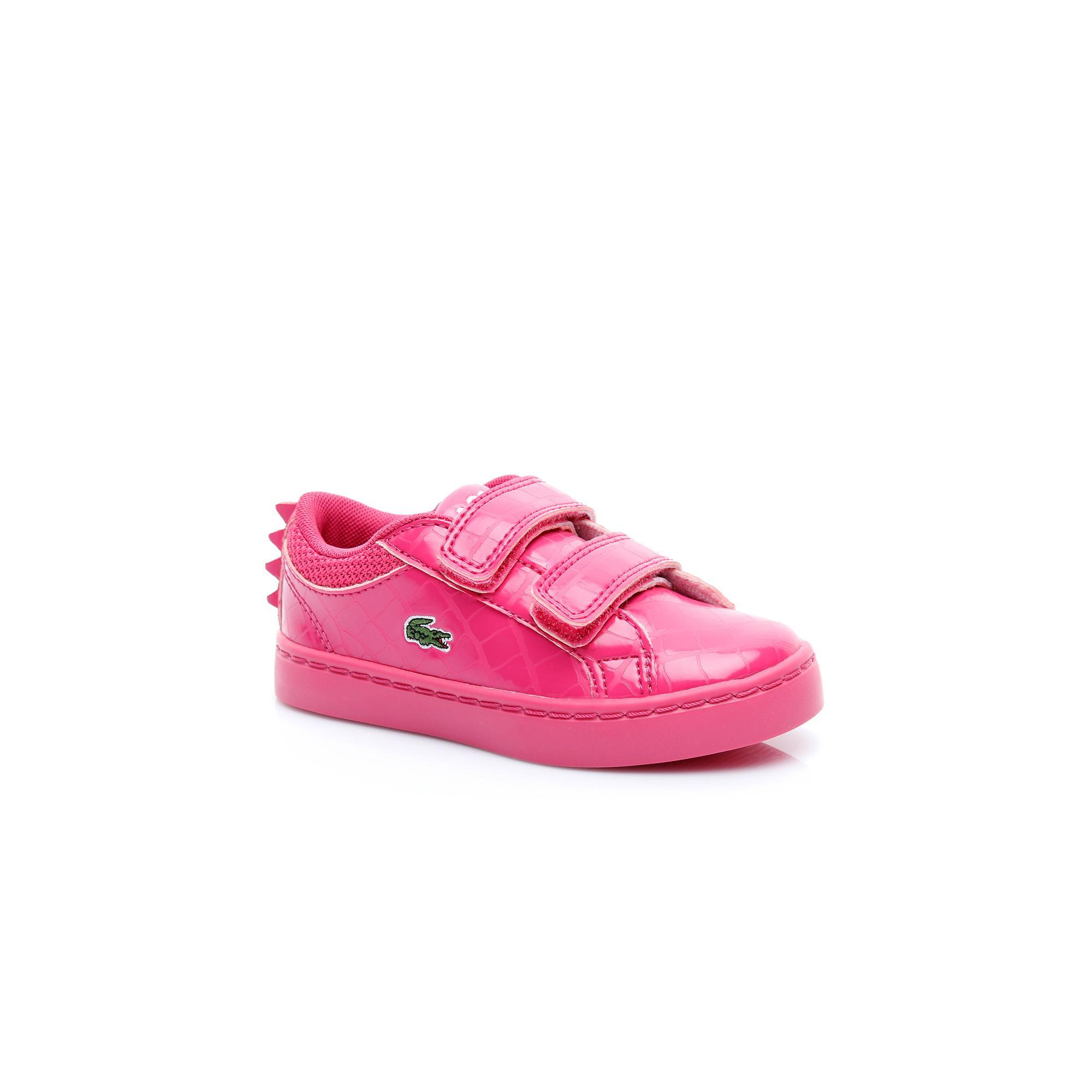 Lacoste Çocuk Koyu Pembe Straightset 119 4 Casual Ayakkabı