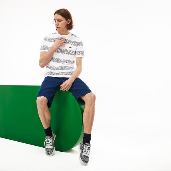Lacoste X Keith Haring Erkek Beyaz T-Shirt