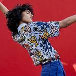 Lacoste X Keith Haring Kadın Renkli Polo