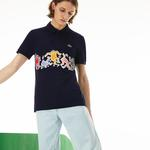 Lacoste X Keith Haring Erkek Regular Fit Lacivert Polo