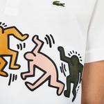 Lacoste X Keith Haring Erkek Regular Fit Beyaz Polo
