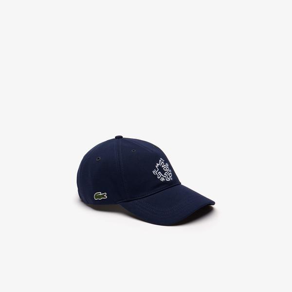 Lacoste X Keith Haring Unisex Lacivert Şapka