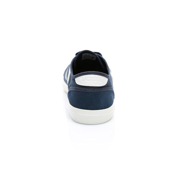 Lacoste Erkek Lacivert - Bej Sideline 119 1 Casual Ayakkabı