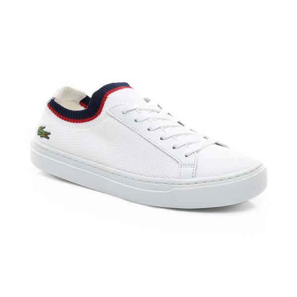 Lacoste Kadın Beyaz - Lacivert - Kırmızı La Piquée 119 1 Casual Ayakkabı