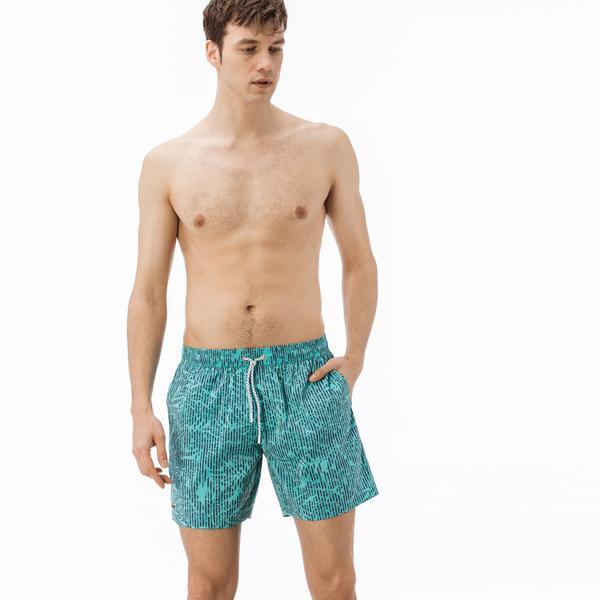 Lacoste Erkek Mavi Şort Mayo