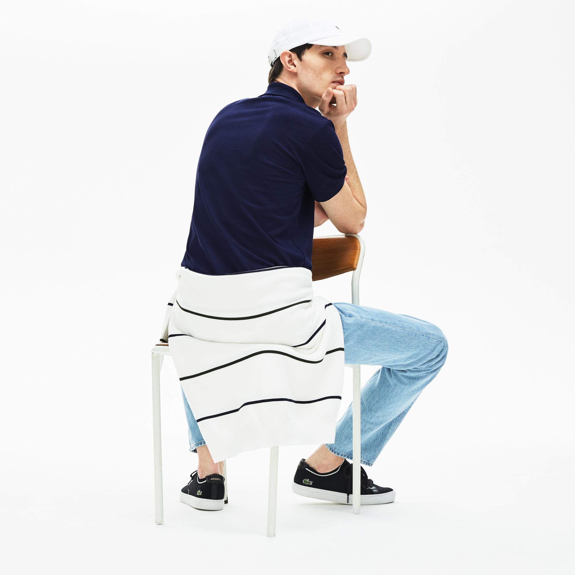 Lacoste Erkek Lacivert Polo