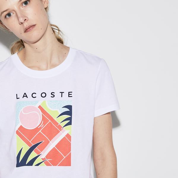Lacoste Sport Kadın Renkli T-Shirt