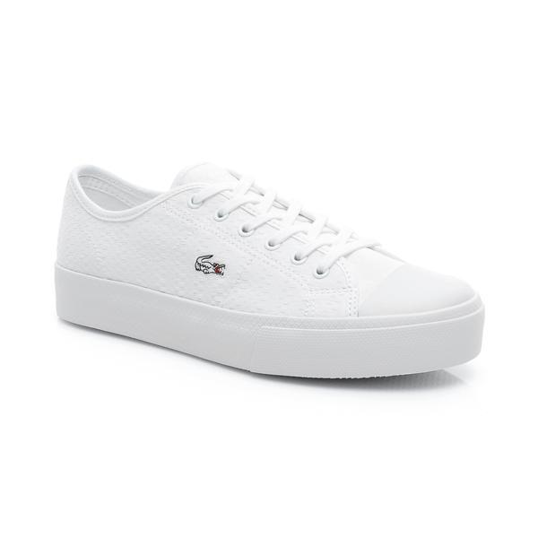 Lacoste Kadın Beyaz Zıane Plus Grand 119 2 Casual Ayakkabı