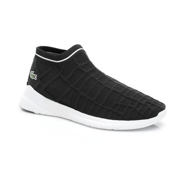 Lacoste Erkek Siyah - Beyaz LT Fit Sock 119 2 Sneaker